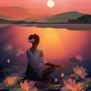 Meditáció, csend